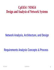 Network Analysis Architecture And Design Pdf