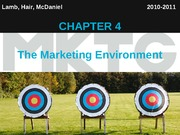 Chapter 4_The Marketing Environment
