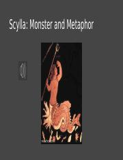 Scylla Monster and Metaphor copy.pptx