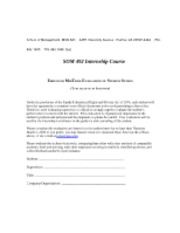 Employer Midterm Evaluation form