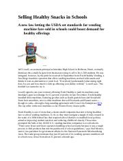 Selling Healthy Snacks in Schools (1)