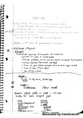 Methods notes