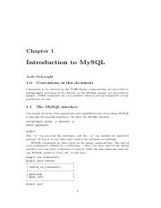 Introduction to MySQL - Chapter 1.pdf