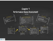 Presentation- Chapter 9- Performance Based Assesment