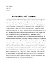 Personality Interests.docx