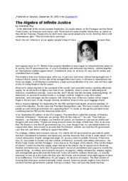 arundhiti roy article