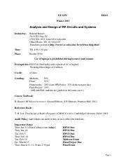 Rf Microelectronics Razavi Ebook