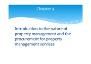 chapter 4 - Property Management