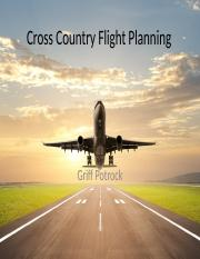 Cross Country Flight Planning