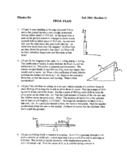 Physics8A_Fall01_FinalSection1_Golightly