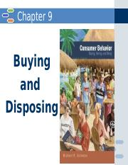 chapter 9 - consumer behavior.pptx