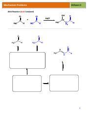 Wsch19pdf Mechanism Problems Ochem Ii Aldol Reaction