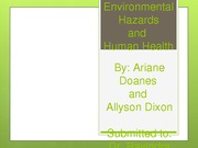 Environmental TERM PPT Example