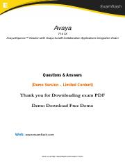 7141X Dumps with Real 7141X PDF Questions Answers 2018.pdf