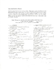 Derivative game solutions-1