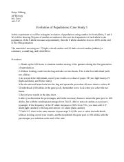 Evolution of Populations-Case Study 1_and_2.odt