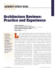 architecture review 2