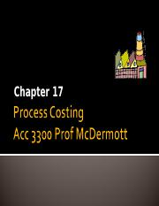 Ch 17 process costing Sept 25 2013