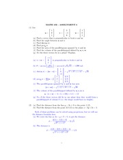 MATH 102 - ASSIGNMENT 5