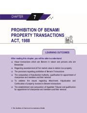 Chapter 7 Prohibition of Benami Property Transactions Act, 1988.pdf