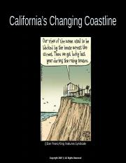 California's Changing Coastline