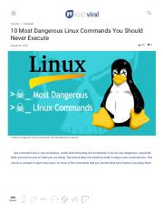 10 Most Dangerous Linux Commands You Should Never Execute.pdf
