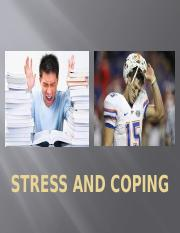 11 Stress _ Coping Ch. 4