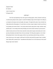 junior comp first paper