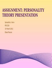 Assignment - Personality Theory Presentation.pptx