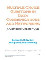 Bandwidth Utilization - Multiplexing and Spreading.pdf