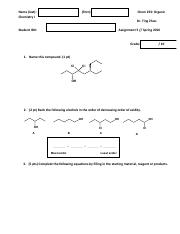 assignment 5 chem233 spring 2016-2
