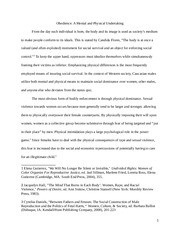 Final Essay - Student Sample