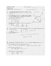 Exam C Solutions on Calculus Page 1