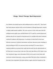 Shock Therapy Paper