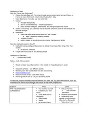 Notes - Industrial Revolution Pro and Con