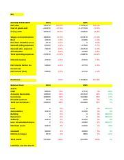 Case Hansson Private Label | Net Present Value | Working ...