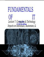 Lecture 7 Computing & Tech. Impacts on Individuals, Society, & Bus.pptx