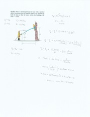 projectile motion 6