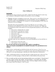 edit my essay online