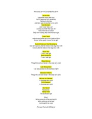 Paradise by the Dashboard Line lyrics