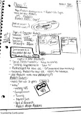 Student Generated Chapter 8 Class Notes