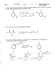 Chem 308C_Summer 2011_Quiz 3 Key