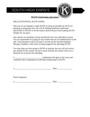 DCON Fundraising Agreement
