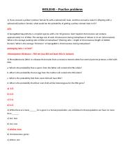 BIOL2040 - answer practice problems.docx