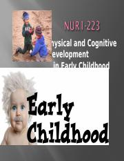 2014.223.students-early childhood - physical and cognitive development -1.ppt