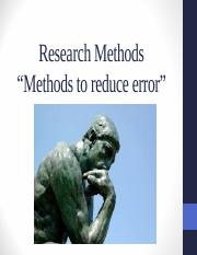 Chapter 2 - Research Methods