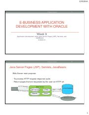 E-Business App Development with Oracle Week8