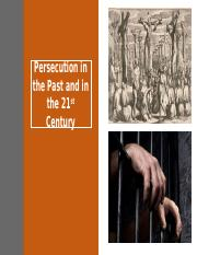 Persecution in the Past and in the 21st.pptx