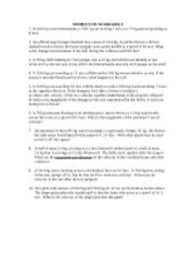 Momentum Worksheet 1 Answers - Date Momentum Worksheet Mr Shevalier ...