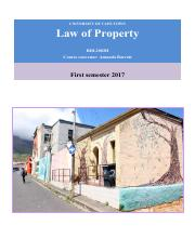 Property Law Course Reader 2017. 1st semester.pdf